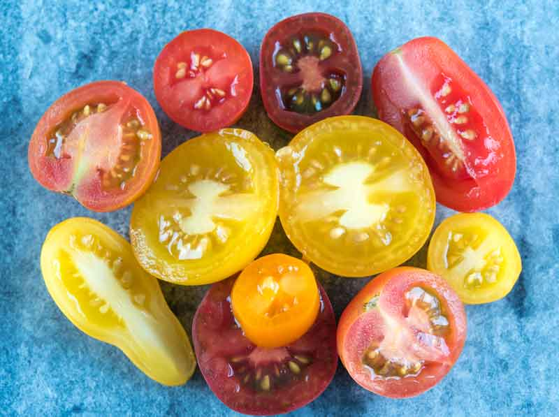 Помидоры для греческого салата рецепт