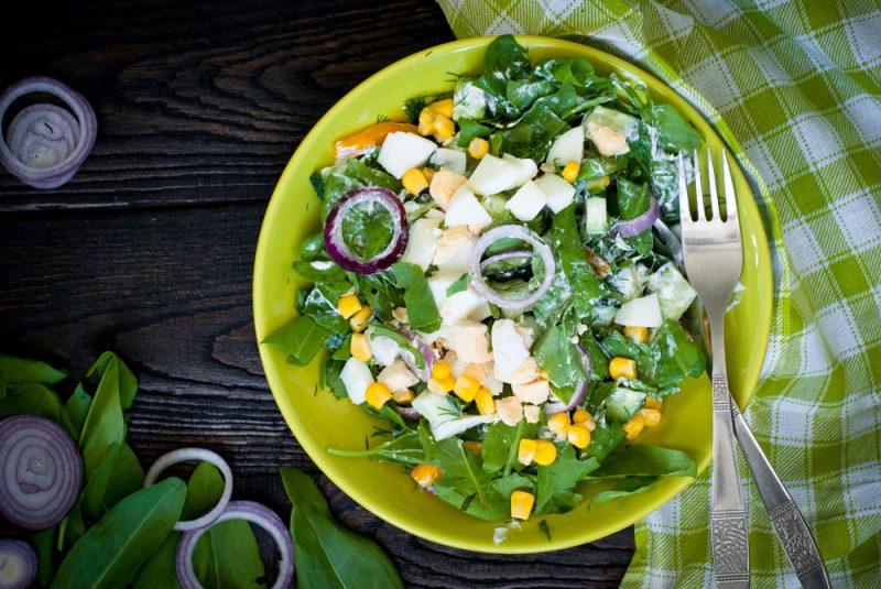 Салат со щавелем рецепт