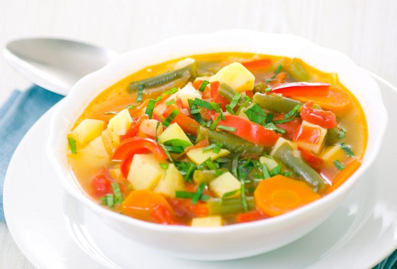 Суп с овощами рецепт