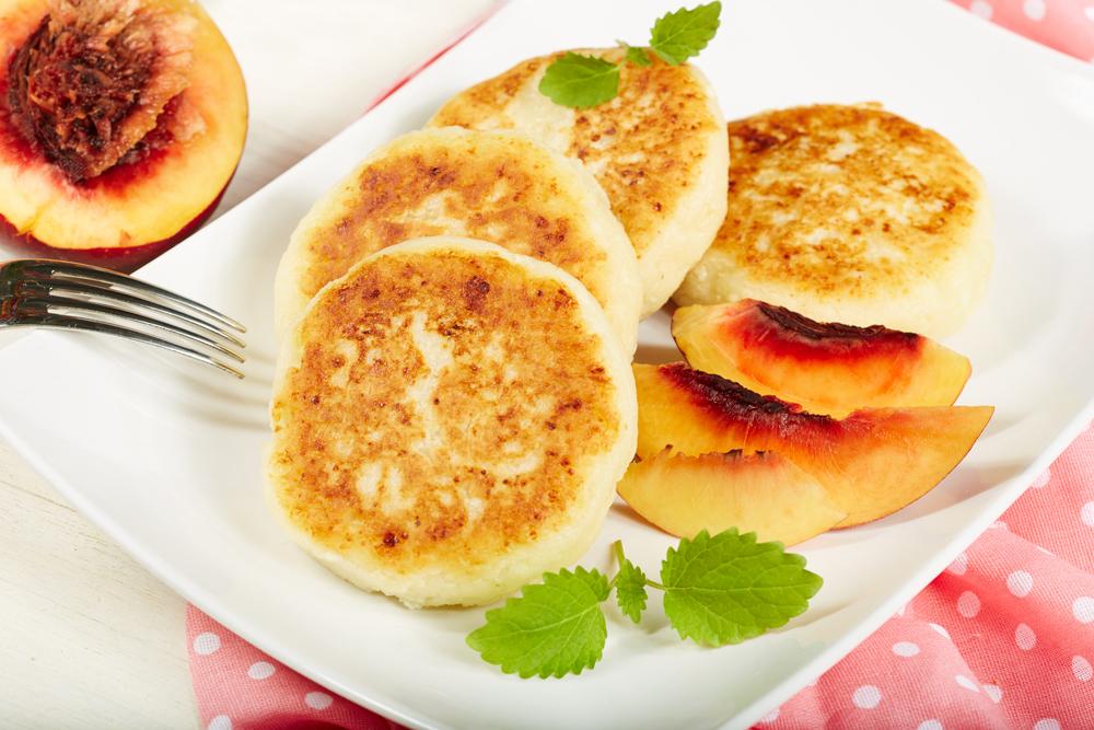 Сырники с нектарином рецепт
