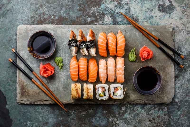 Как приготовить суши рецепт