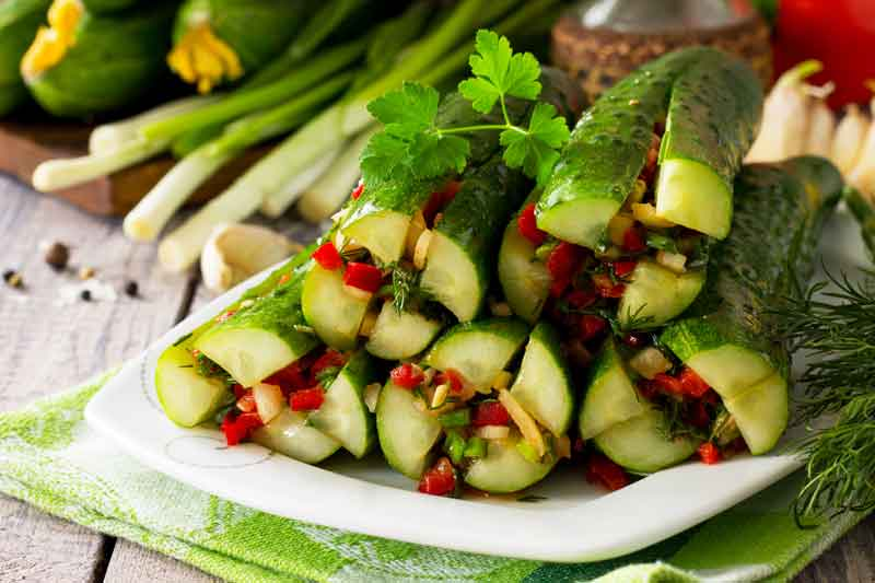 Корейский салат из огурцов на зиму рецепт