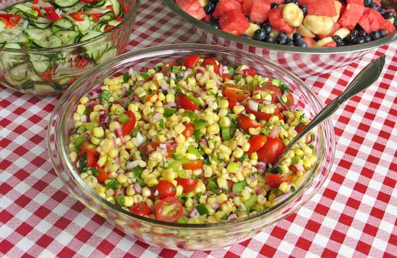 Маринованный салат с кукурузой рецепт