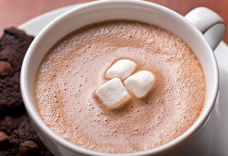 Классический горячий шоколад фото