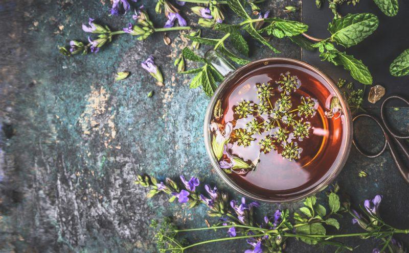 Травяные чаи фото рецепт