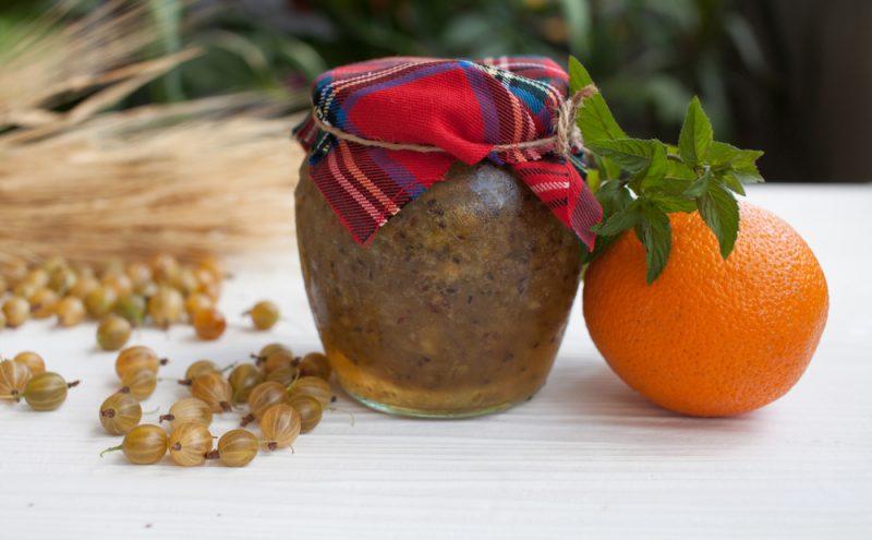 Варенье из крыжовника и апельсинов рецепт