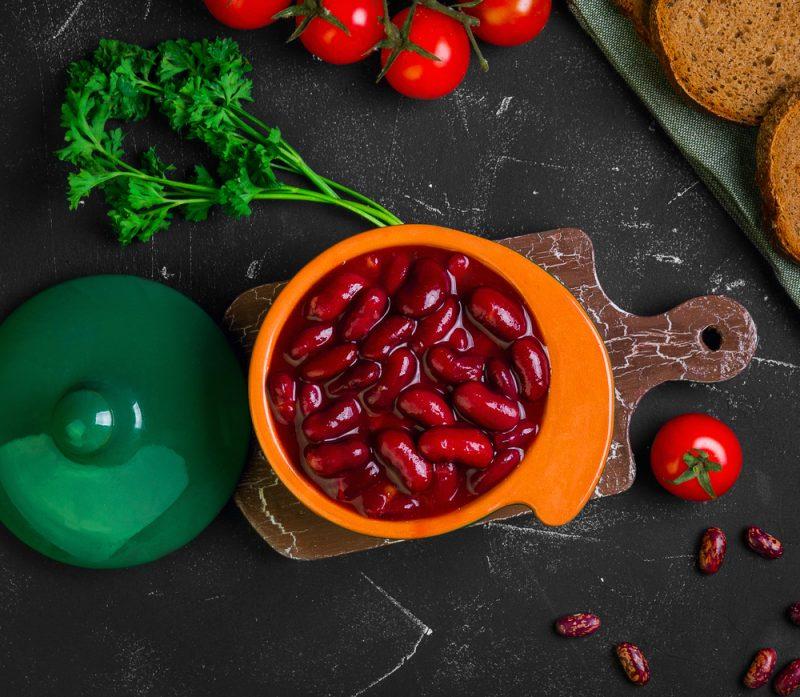 Красная фасоль в томатной заливке рецепт