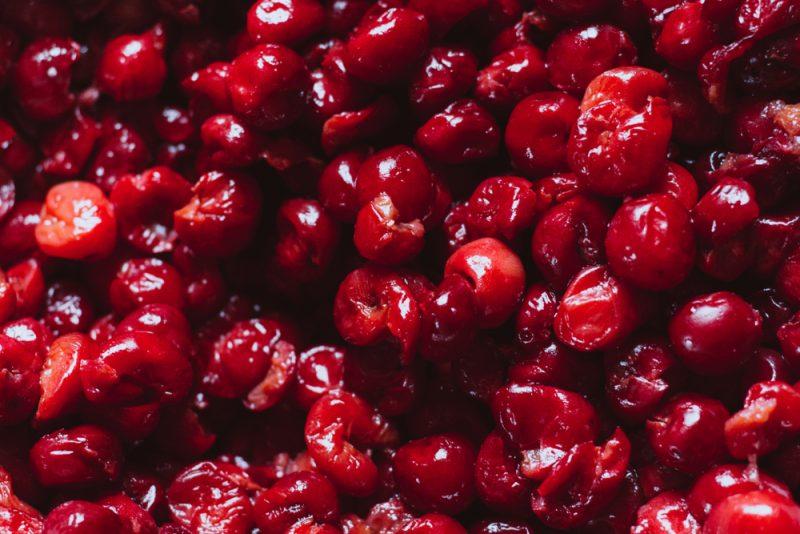 Жареная вишня рецепт