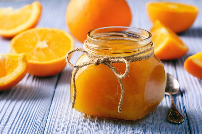 Апельсиновое варенье-пятиминутка рецепт