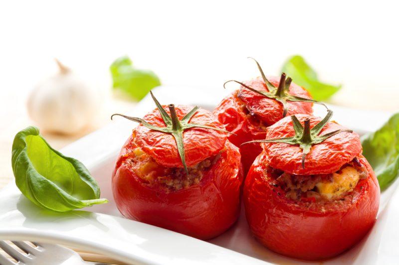 Фаршированные красные помидоры рецепт