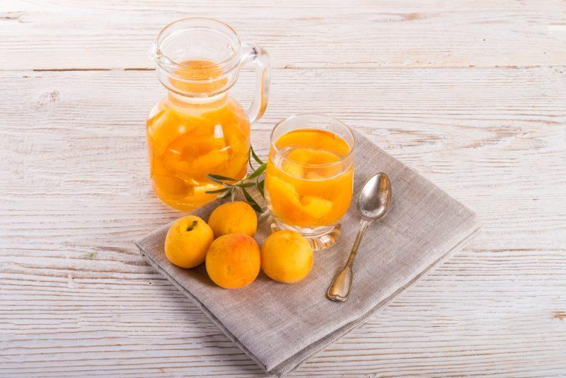 Компот из груши и абрикосов рецепт