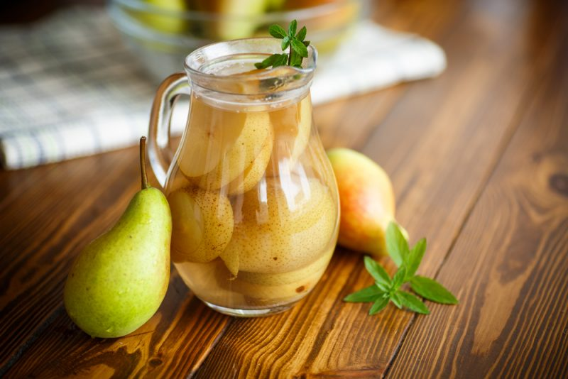Компот из груши на зиму рецепт