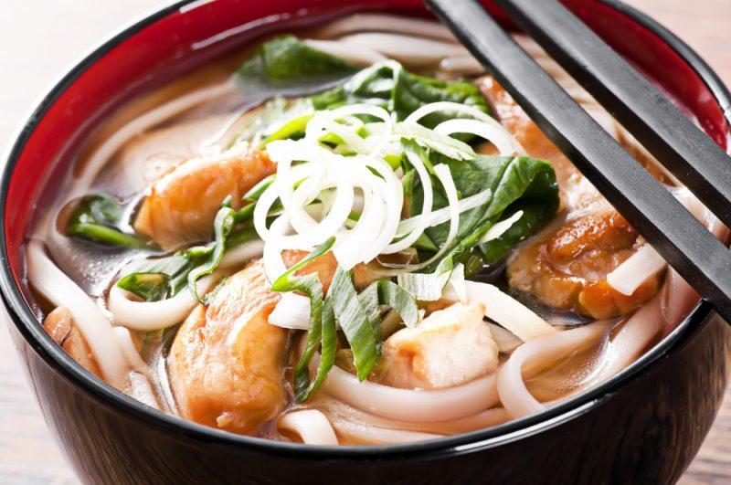 Куриный мисо-суп рецепт