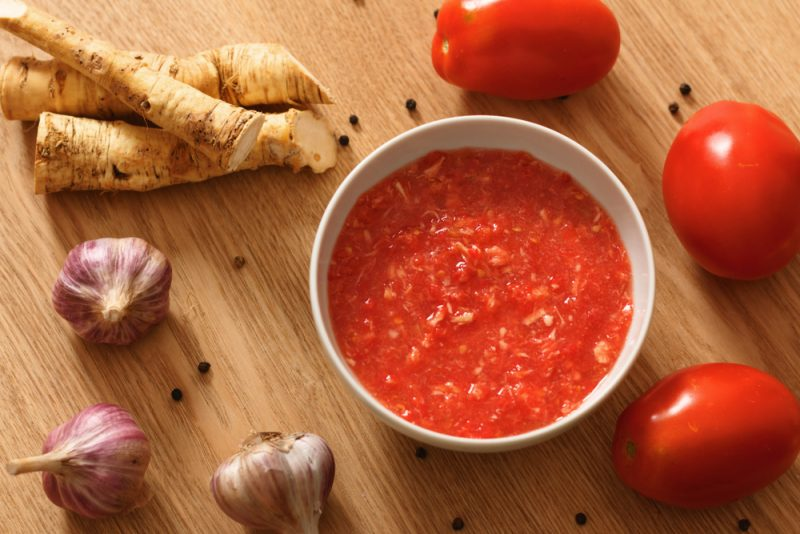 Хрен с томатами рецепт