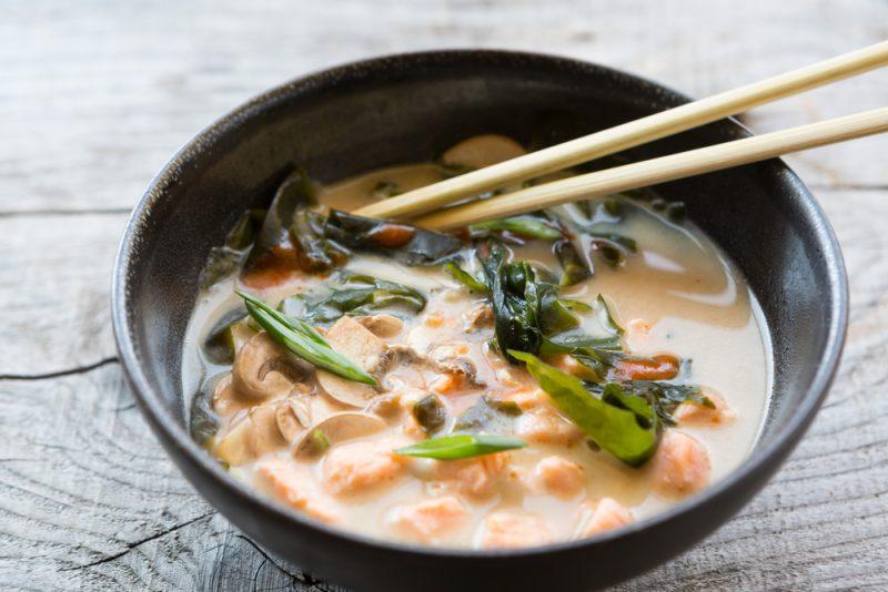 Рыбный мисо-суп рецепт