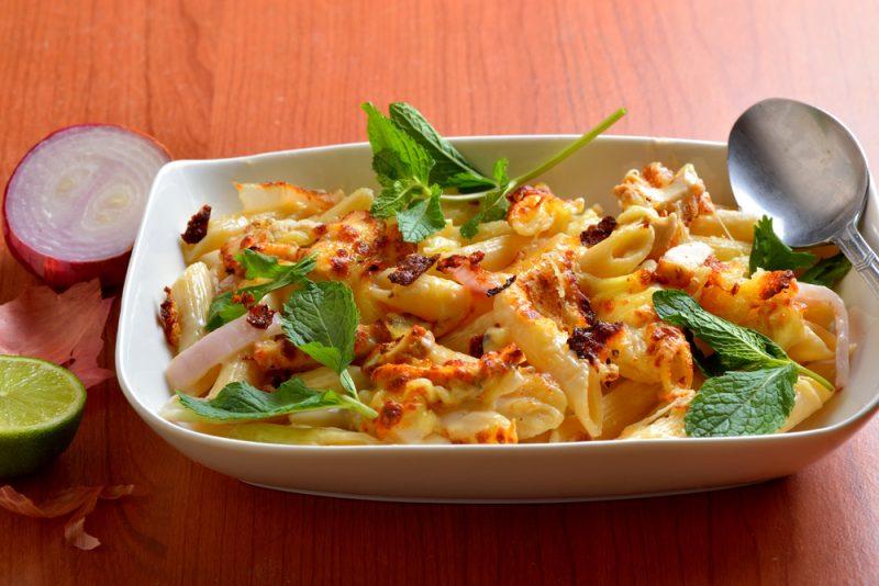 Салат с макаронами рецепт