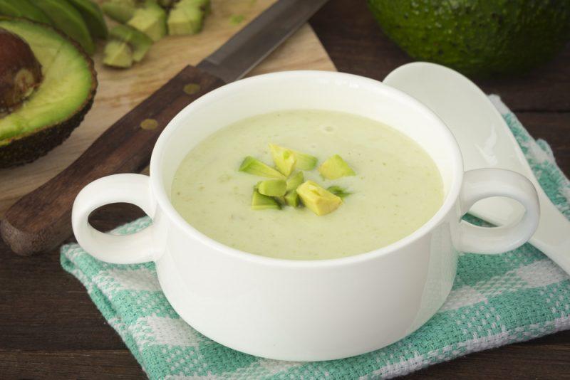 Суп из авокадо рецепт