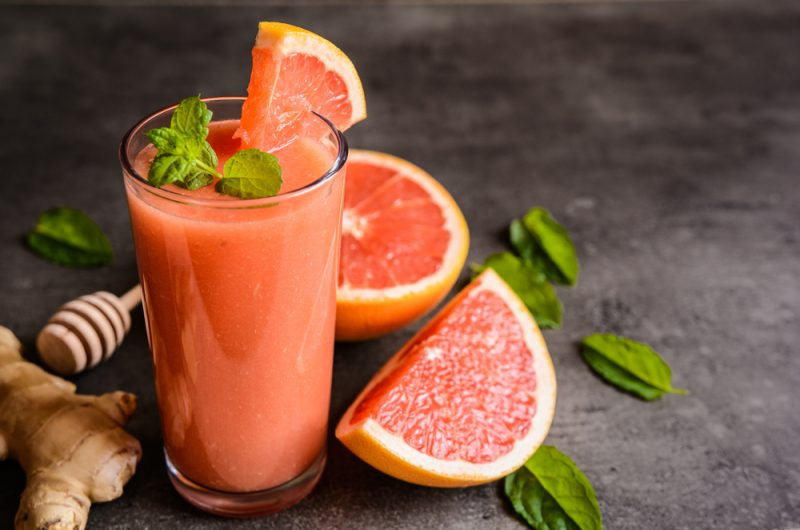 Смузи из грейпфрута рецепт