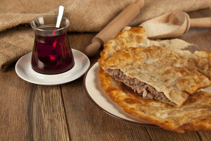 Татарский мясной пирог с фаршем рецепт