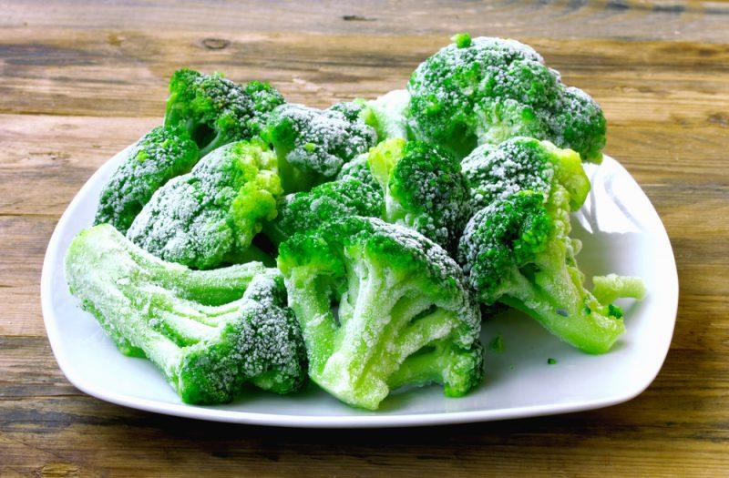 Замороженная брокколи рецепт