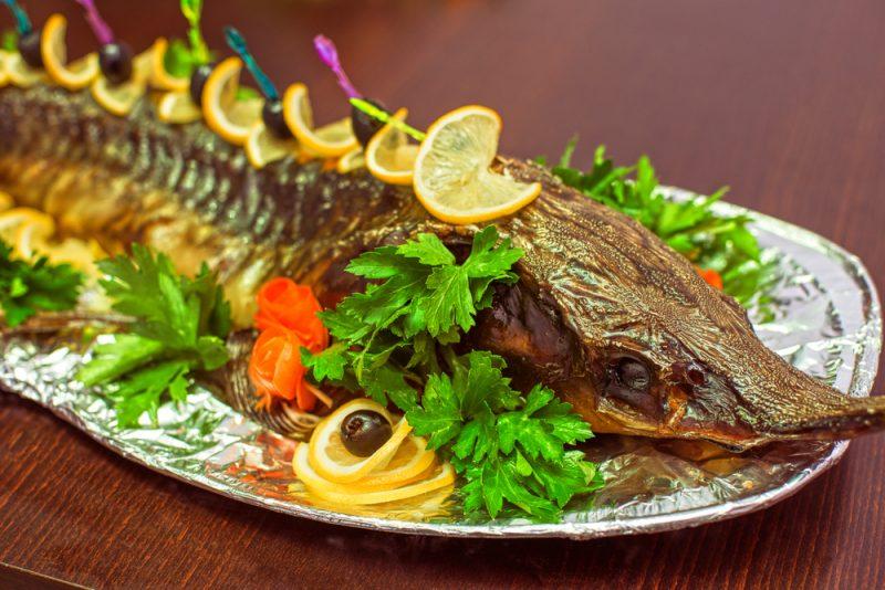 Запечённая рыба рецепт