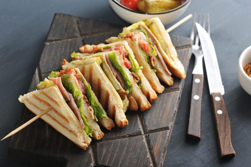 Фото французского сэндвича