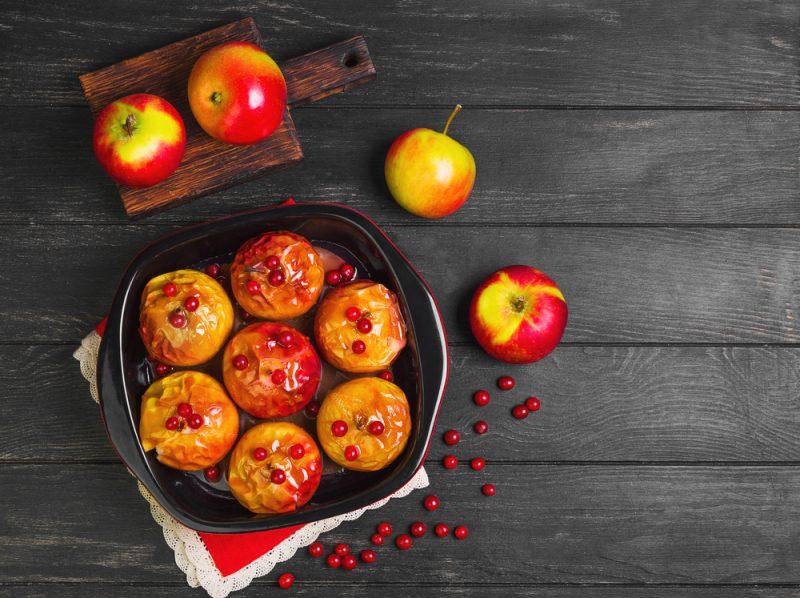 Рецепт запечённых яблок