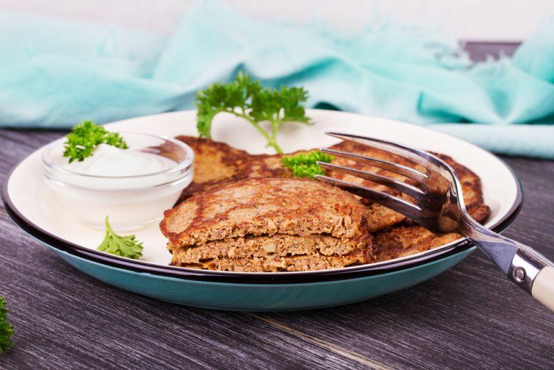 Классический рецепт оладьев из куриной печени