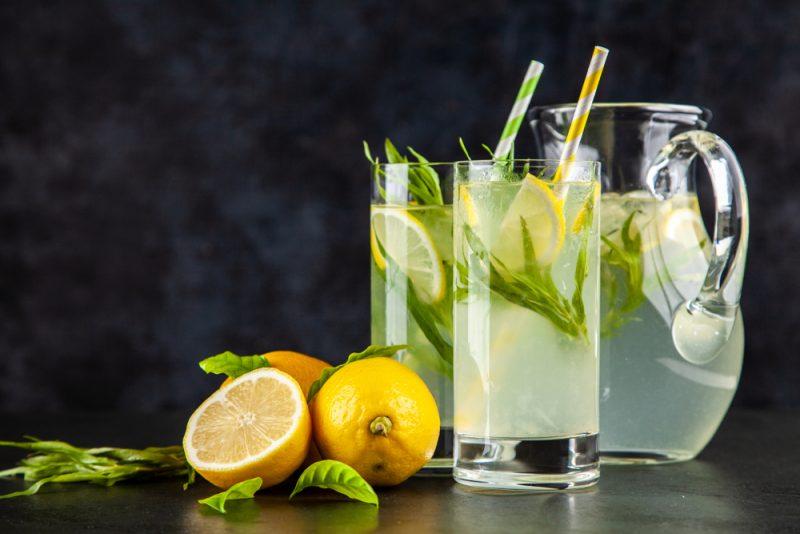 Напиток из лимона и тархуна рецепт