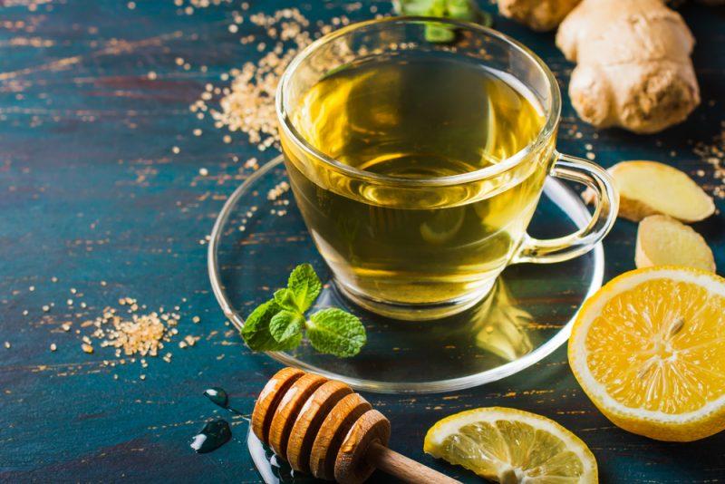 Лимонный напиток с мёдом рецепт