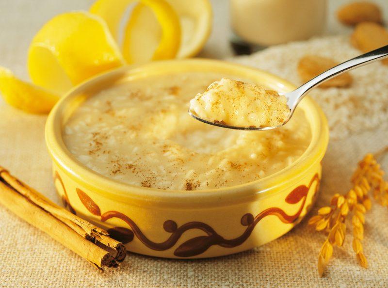 Лимонный рисовый пудинг рецепт