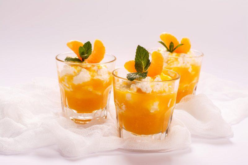 Фото мусса из апельсинов