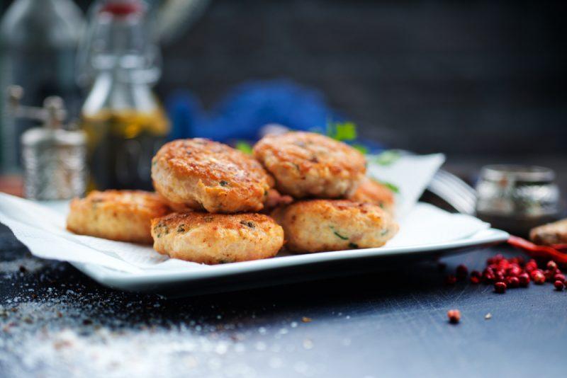 Пышные оладьи из куриной печени рецепт