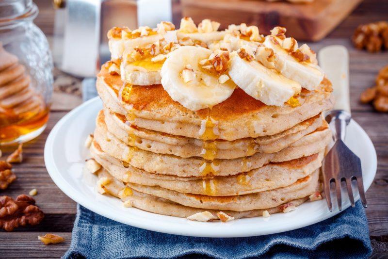 Рецепт банановых панкейков