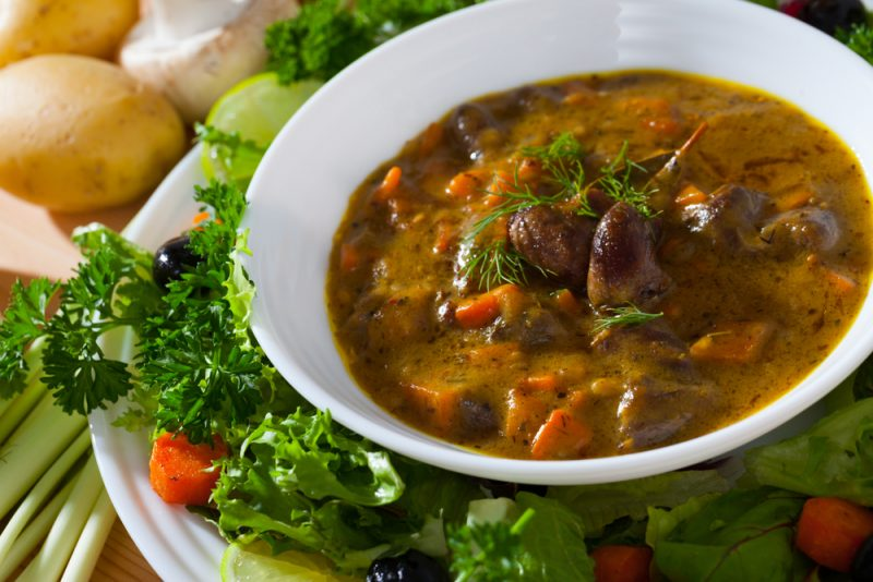 Суп из индейки со щавелем рецепт