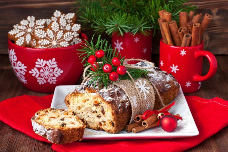 Рождественская выпечка рецепт