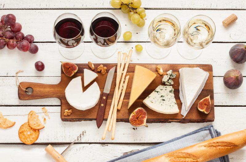 Фото закусок к вину