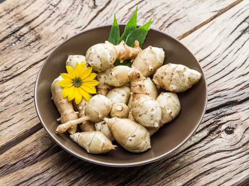 Рецепты топинамбура