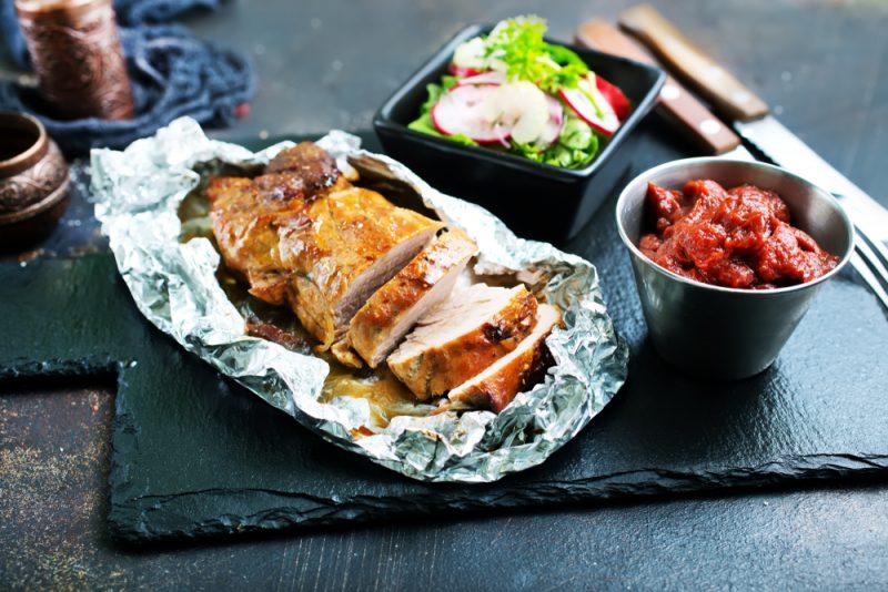Запеченная свинина рецепт