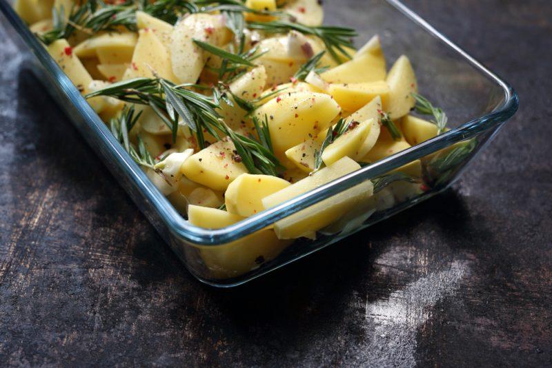 запечённый картофель: фото