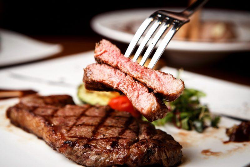Стейк из говядины: фото
