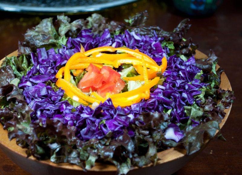 Фото овощного салата