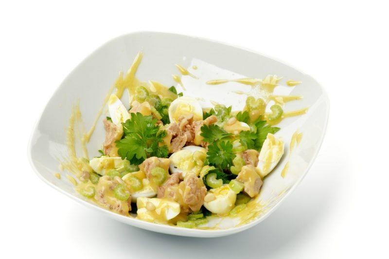 Салат с печенью трески: фото
