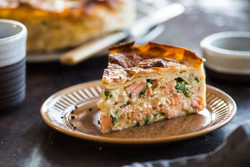 Рыбный пирог рецепт