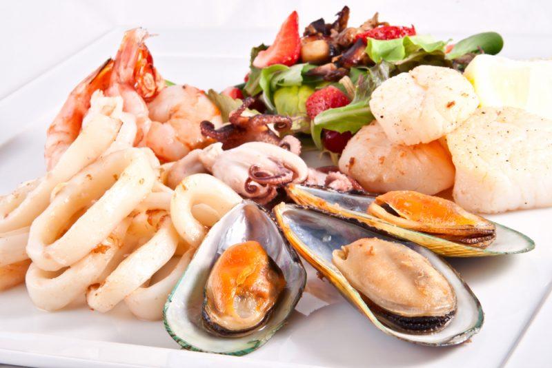 Морская тарелка: фото