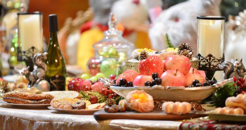Новогодние блюда: фото