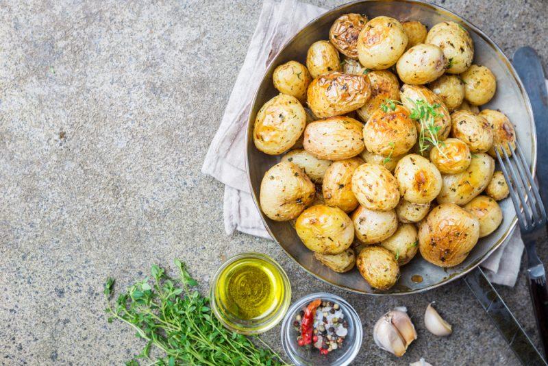 Картофельный гарнир: фото