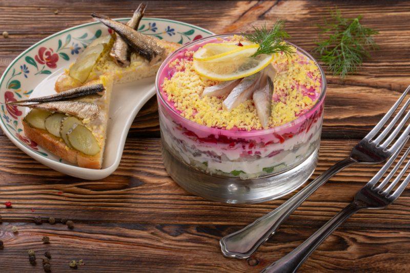 Рыба под шубой в новом исполнении: рецепт