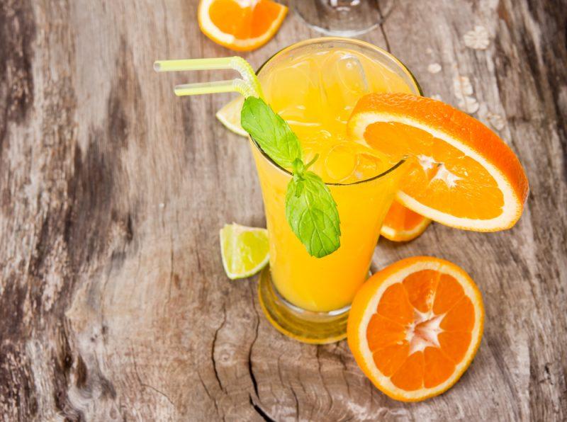 Коктейль из апельсинов: фото