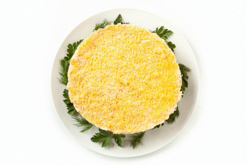 Фото слоёного салата
